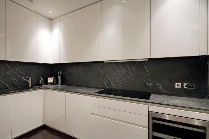 Boffi Kitchen, Mayfair Apartment by Louis Henri
