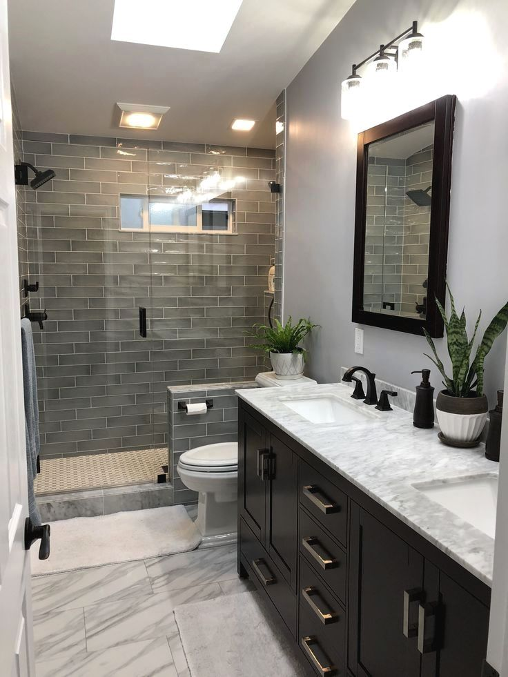 Clever Design Ideas para pequeños cuartos de baño en 2019 ...
