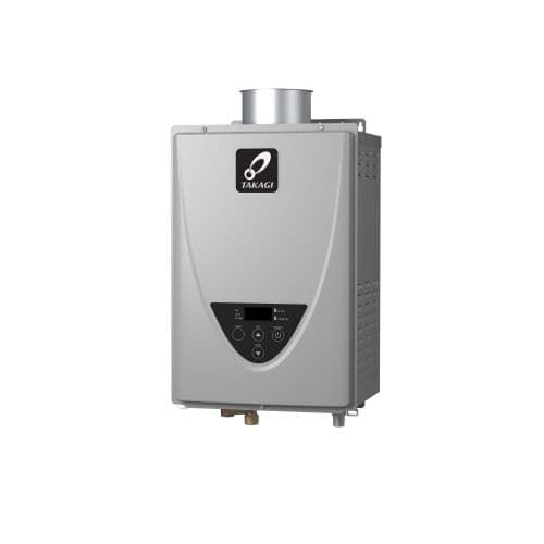 Takagi TK-510C-NI 10.0 GPM Commercial Indoor Natural Gas Tankless Water Heater with 199,000 BTU Input and Concentric Venting