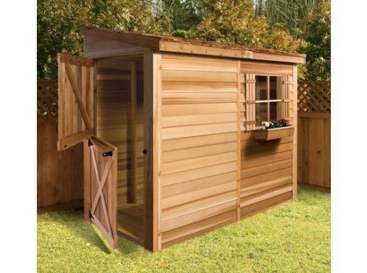 cedarshed bayside 6x3 shed