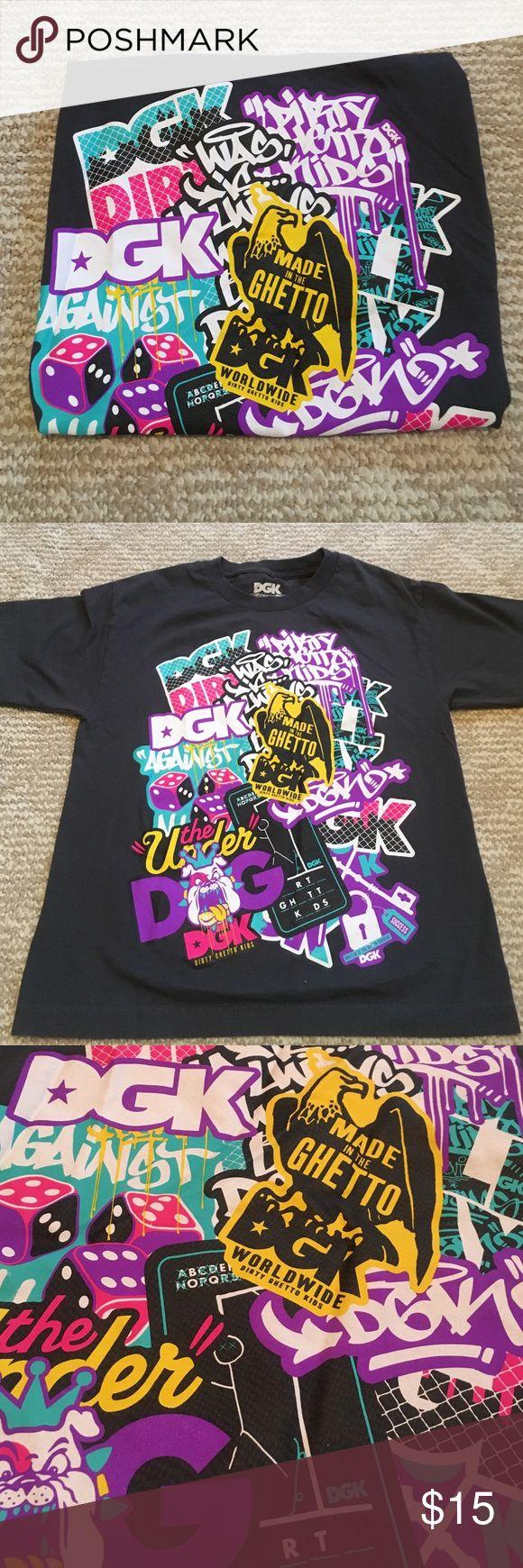 Design t shirt rollerblade - Dgk Graffiti Tee