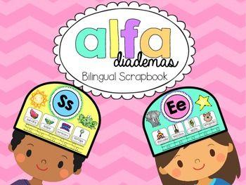 Bilingual Scrapbook: Alfa Diademas {A headband for every letter of the Spanish alphabet}