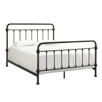 HomeSullivan Calabria Metal Queen-Size Bed-40E411B221W(3A)[BED] at The Home Depot