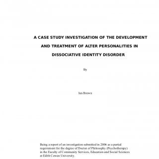 the best sample of case study ideas what is a case study on dissociative identity disorder sample