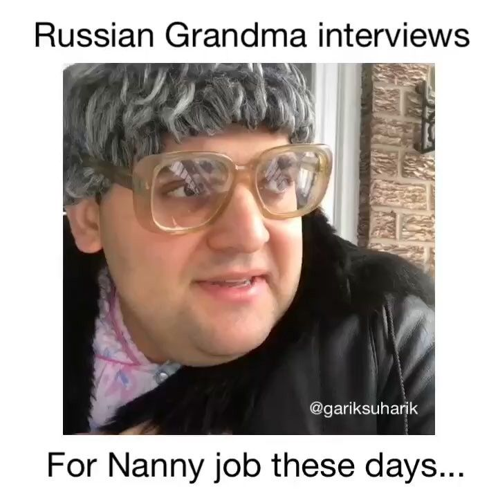 I cant with these nanny jobs and babushka! And these kids its prosta crazy!!! ( starring @denitte @gariksuharik ) tag your friends who needs a nanny like this #russianparents #babafira #nanny #omg