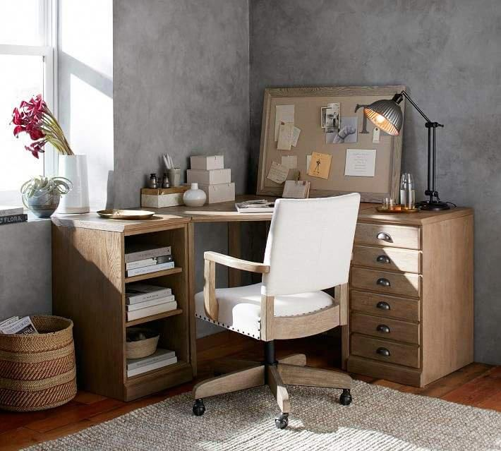 Pottery Barn Printer S Corner Desk Set Homeofficefurniture