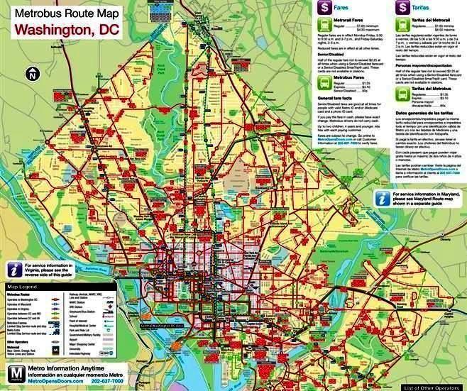 Maps Update #700495: DC Tourist Map – Washington DC Tourist Map in ...