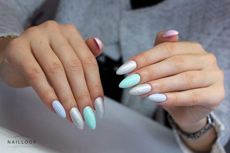 Pastelove <3 #nail #nails #paznokcie #springnails #longnails #manicure #pastel #pastelnail
