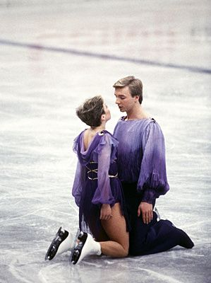 If ice dancing is on this list, you know it had to be spectacular. And that's exactly what Jayne Torvill and Christopher Dean were. The British pair gave a performance for the ages at the 1984 Sarajevo Olympics. They did not begin skating for the first 18 seconds of the music so as not to exceed the time limit for a routine. In the end, Torvill and Dean received 12 perfect 6.0s for their free skate routine, including a 6.0 from every judge in the artistic impression category.