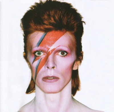 [David Bowie, Aladdin Sane album outtake, London, January 1973]