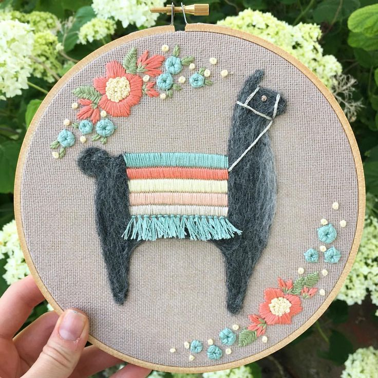 """Becky Tilson (@fuzzyandflora) auf Instagram: """"I will be adding this 7"""" hoop to my Etsy shop in 35 minutes."""""""