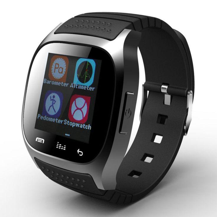 Heißer verkauf! neue Bluetooth Smart Uhr M26 Smartwatch Mit Zifferblatt/Alarm/Musik-player/Schrittzähler für Android IOS HTC Handy telefon //Price: $US $50.42 & FREE Shipping //     #clknetwork