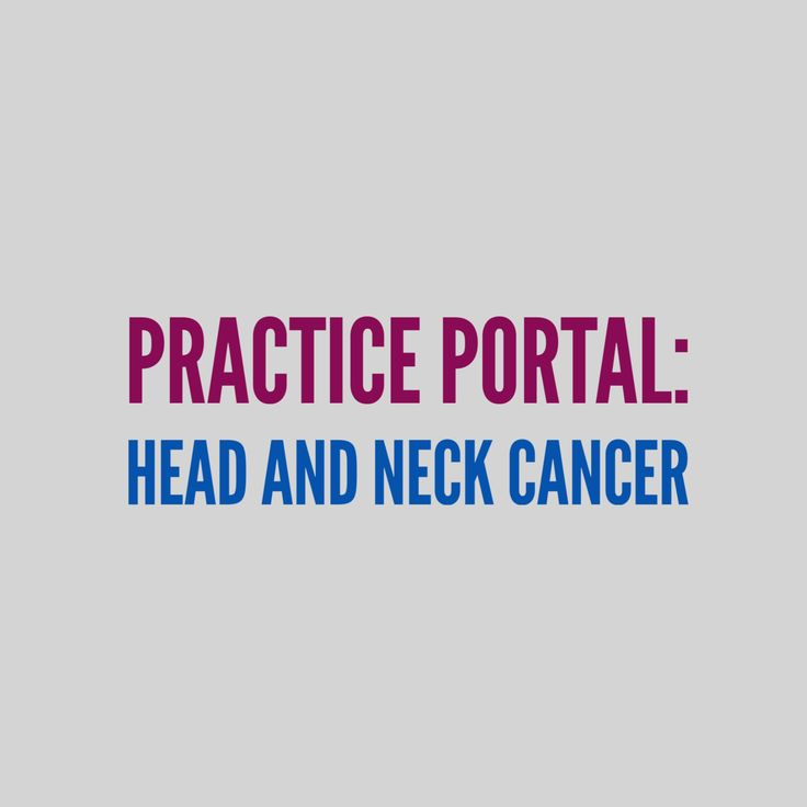 Head and Neck Cancer: Curated and peer reviewed content on clinical topics. #HNC #cancer #SLP