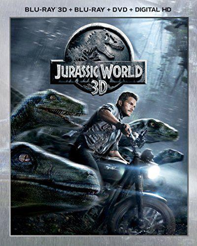 Jurassic World 3D (Blu-ray 3D  Blu-ray  DVD  DIGITAL HD)