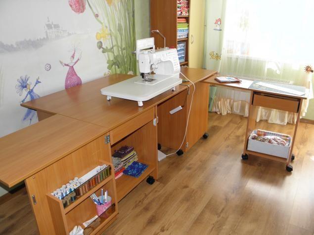 оптимизация рабочего пространства или мой новый швейный стол - Ярмарка Мастеров - ручная работа, handmade