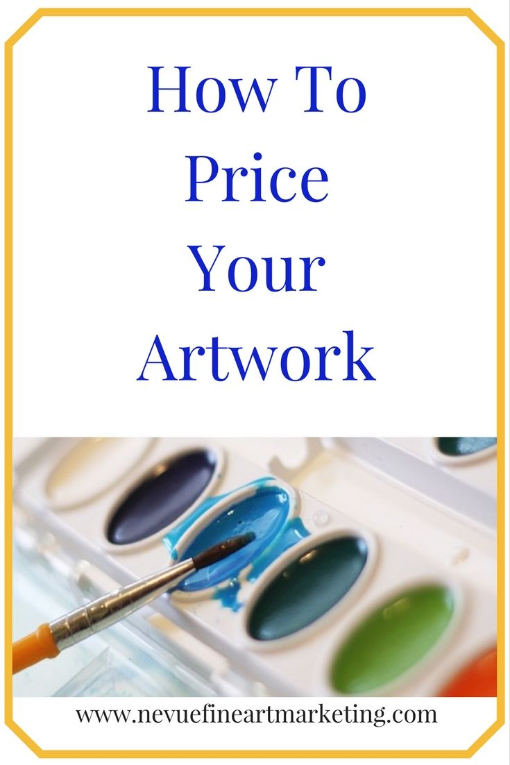 How To Price Your Artwork. Learn how to price your art to sell. There are many variables you will want to take into consideration.