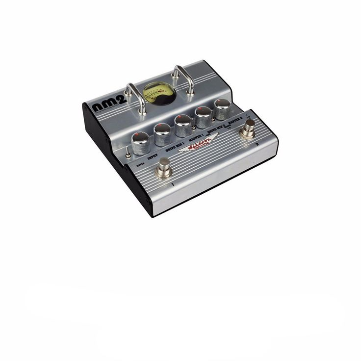 Ashdown Nate Mendel Signature Double Distortion Pedal