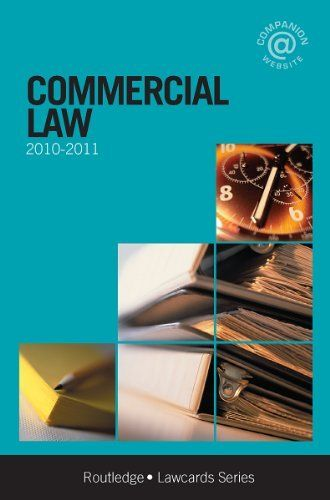 20 best commercial law images on pinterest commercial law and commercial law 2010 2011 lawcards by jonathan fitchen 1063 fandeluxe Image collections