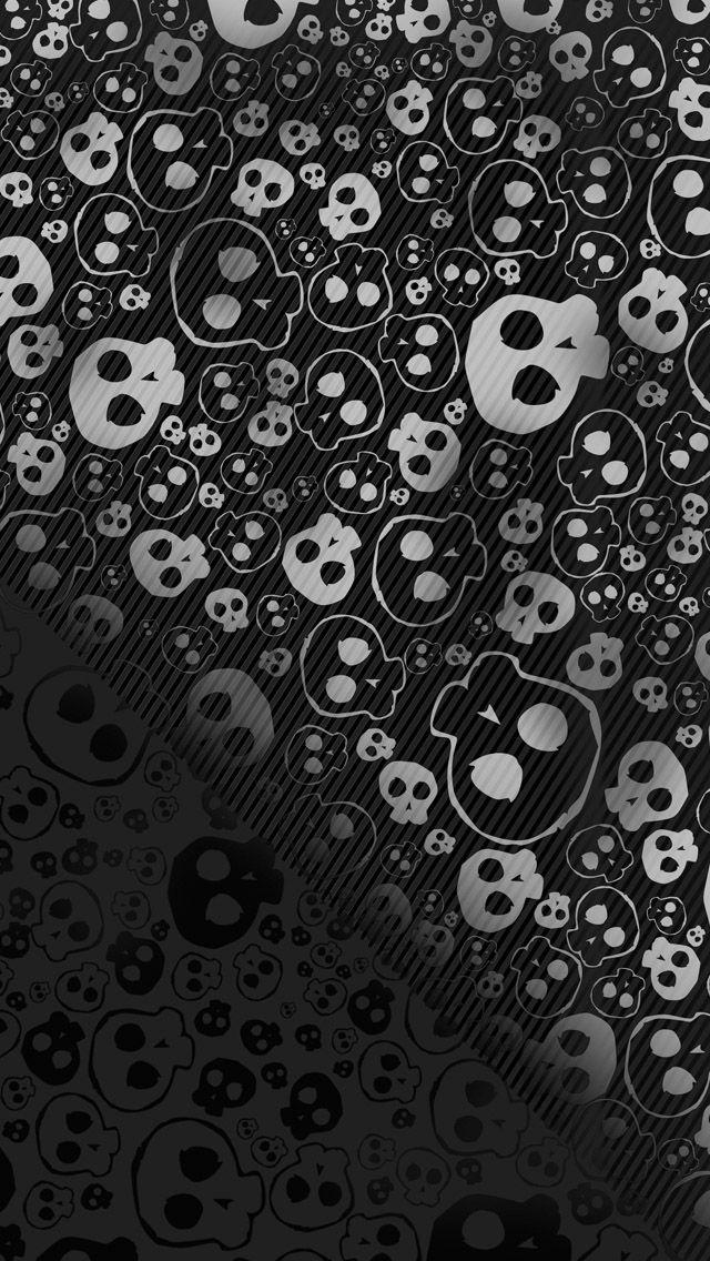 Skull textures background iPhone 5 Wallpaper Download - find more free iPad wallpapers on www.ilikewallpaper.net enter the website to download fullsize wallpaper.