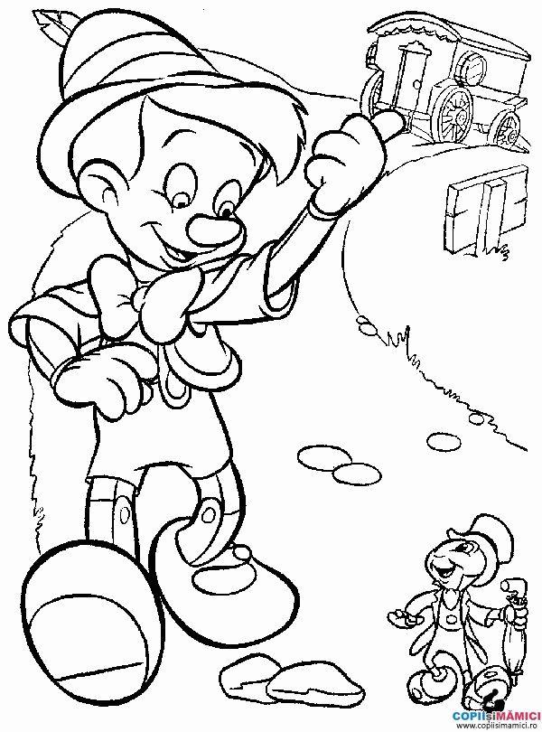 Desene de colorat Personaje De Desene Animate Disney 57 - Planse de colorat cu DISNEY