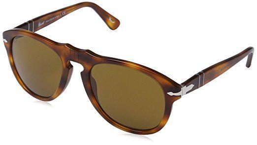 Persol - Gafas de sol Aviador Mod. 0649 Sole, 96/33