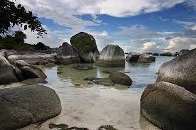 Belitung Island Indonesia sky so beautifull ^^