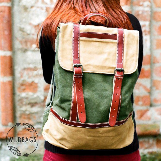 Мужские рюкзаки - Bork зеленый
