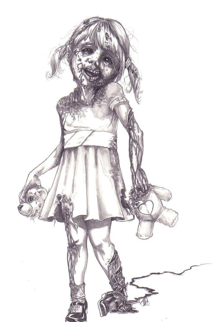 Zombie Girl Art | ... zombies y hoy les traigo una recopilación de imágenes de ZoMbie Art