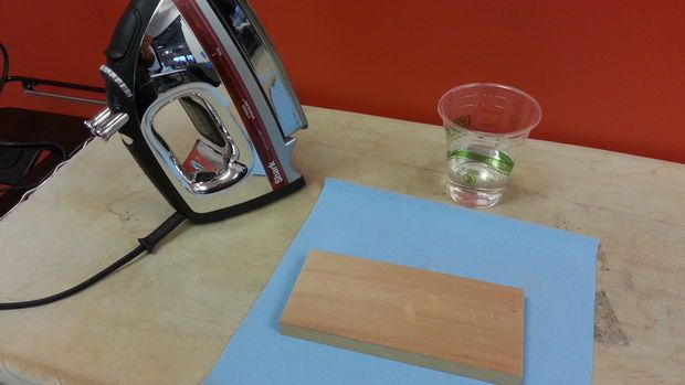 How to get dents out of wood. This is a great tutorial! :o)
