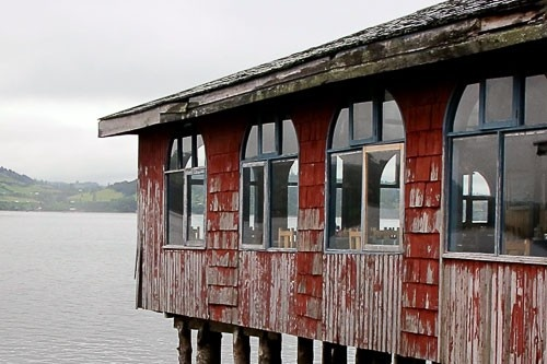 Chiloe Photos at Frommer's - Typical building structure (palafito) on Chiloe island in Chile. Photo by A Beebe/Frommers.com Community.