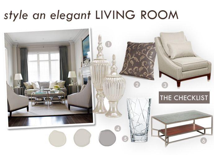 Benjamin Moore Pale Oak (OC 20), Barren Plain (2111 60), Stormy Monday  (2112 50) | Boards: Vision, Bulletin, Mood... | Pinterest | Elegant Living  Room, ...