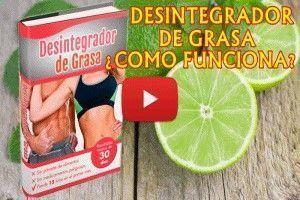 El Desintegrador de Grasa: Cómo Funcionará para rebajar la grasa de la panza en mujeres y hombres. Como Adelgazar La Barriga y Cintura en Una Semana desintegrando toda la grasa del abdomen plano.