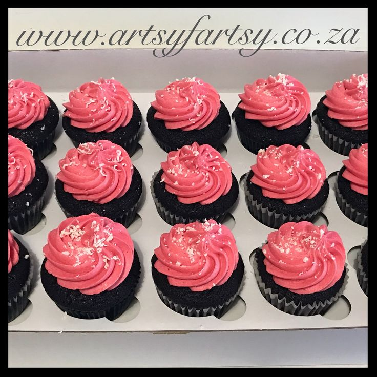 Pink Cupcakes #pinkcupcakes