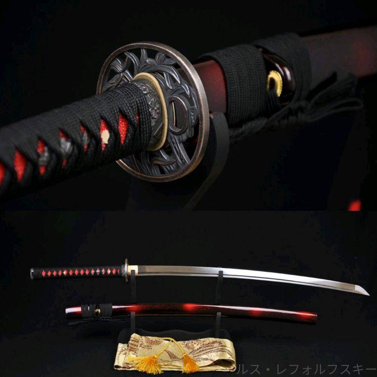 картинки мечей и самурайских катан кажется, что