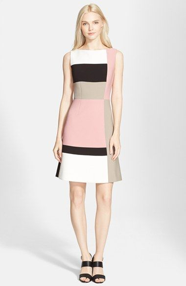Color block dresses for fall