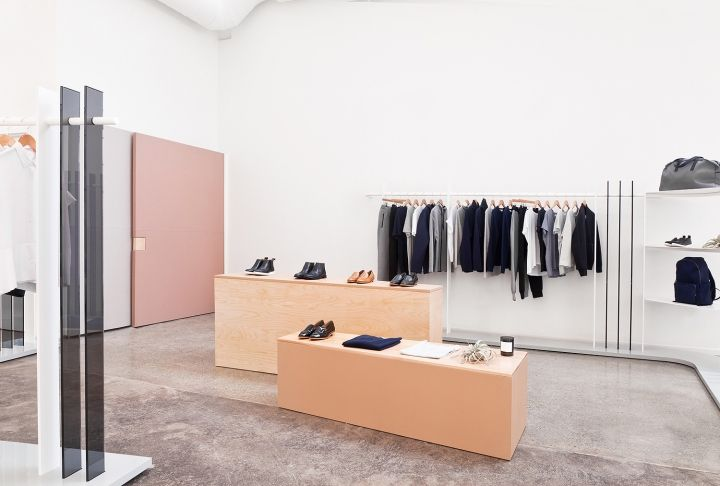 Everlane showroom by Brook&Lyn, San Francisco – California » Retail Design Blog