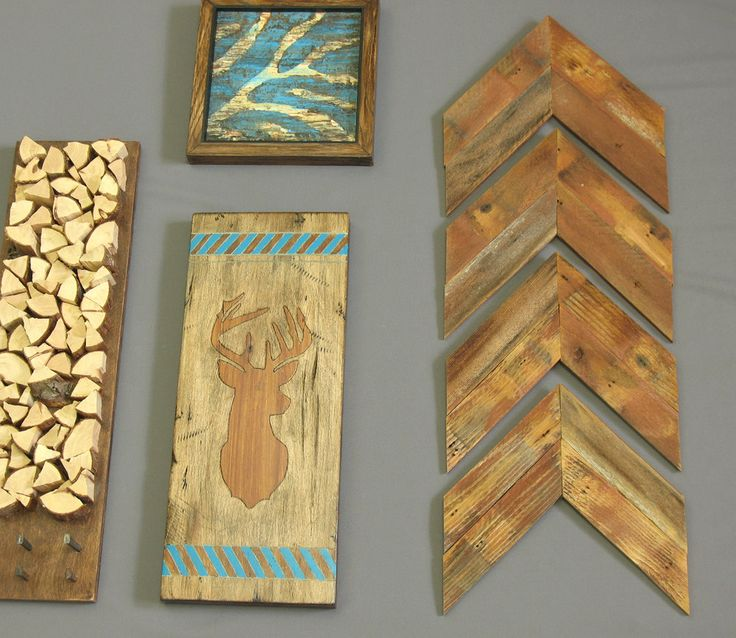 Modern Rustic Wall Decor : Images about modern rustic home decor ideas on
