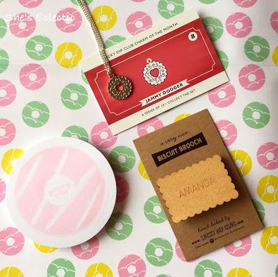 She's Eclectic: Lucky Dip Club - Biscuit Box