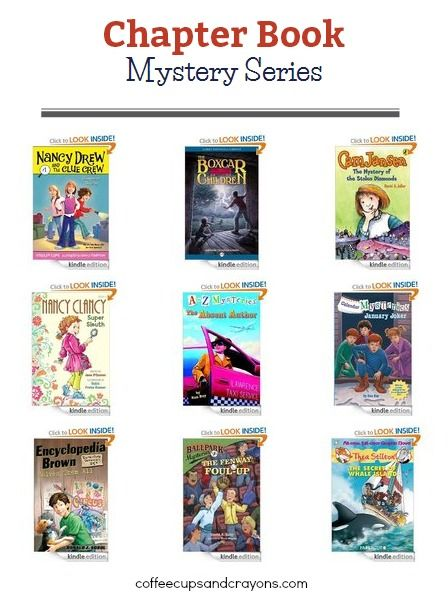 a to z mystery books series