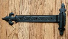 Hand Forged Iron Strap Hinge for shutters