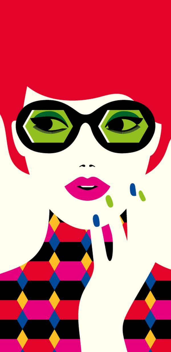 52 best Absurd Pop images on Pinterest Patterns, Backgrounds and - einrichtung stil pop art