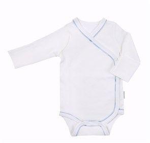 Yenidoğan bebeklerin hassas cildine zarar vermeyen GOTS sertifikalı %100 organik pamuktan üretilen erkek hastane çıkışları Onseda.com.tr'de.