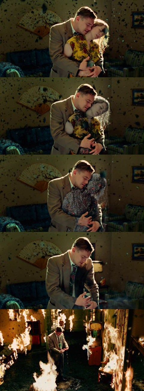 """You have to let her go!""  ""l can't! l can't.""  - Shutter Island (2010)"
