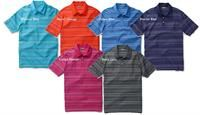 Ashworth | Golf Shirts | Interlock Multi-Stripe Polo