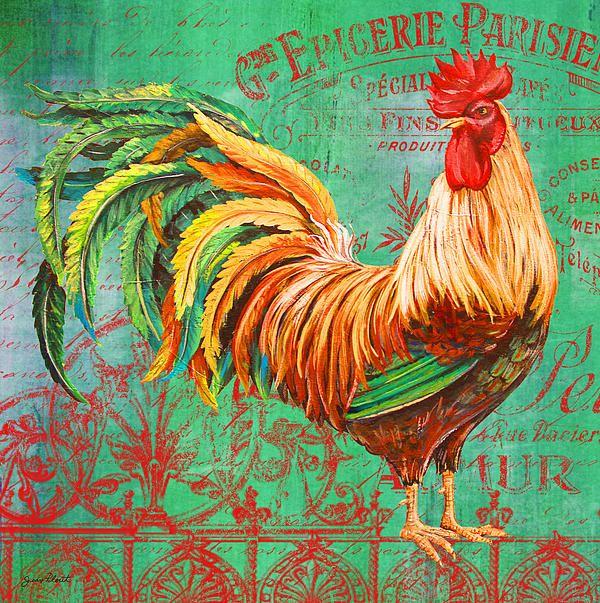 - 'Le Rooster Heaven-a' - http://fineartamerica.com/featured/le-rooster-heaven-a-jean-plout.html via @fineartamerica