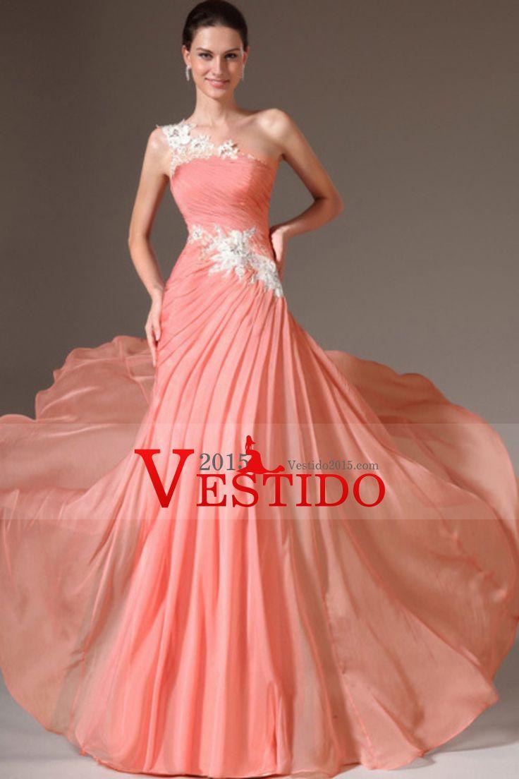 Mejores 191 imágenes de Vestidos de noche en Pinterest | Vestidos de ...