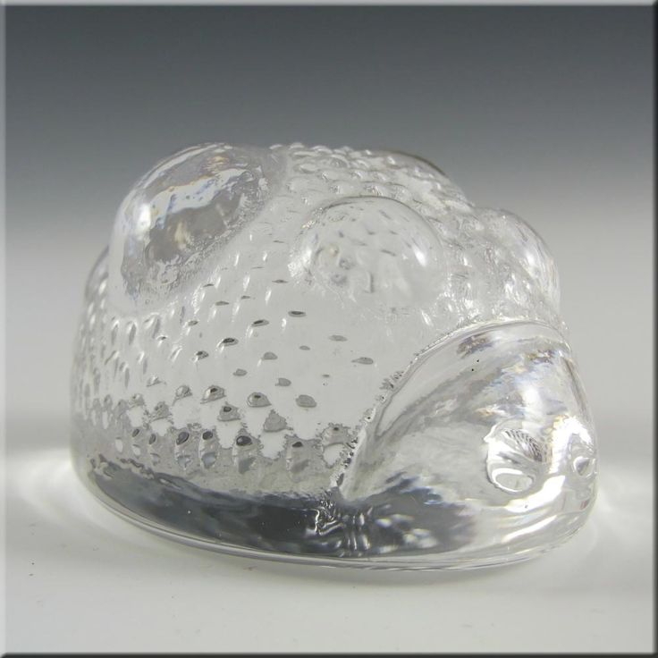 Hadeland Glass Ladybird Paperweight - Marked & Boxed £19.99