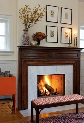 22 best Tiles for 1950's fireplace images on Pinterest | Fire places  S Kitchen Design Ideas With Fireplace on kitchen designs with rock fireplace, natural stacked stone veneer fireplace, kitchen with cozy fireplace,