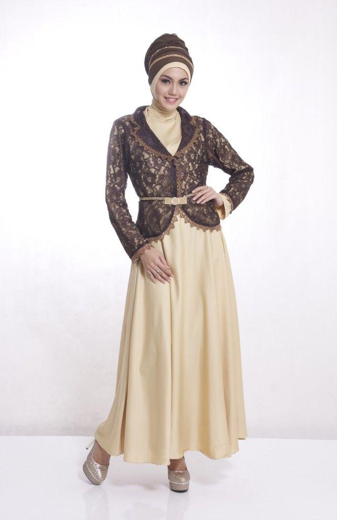 Mau gamis yang trendi ini? lihat dsn http://gamispesta.net/gamis-pesta-jasmine-gold.html