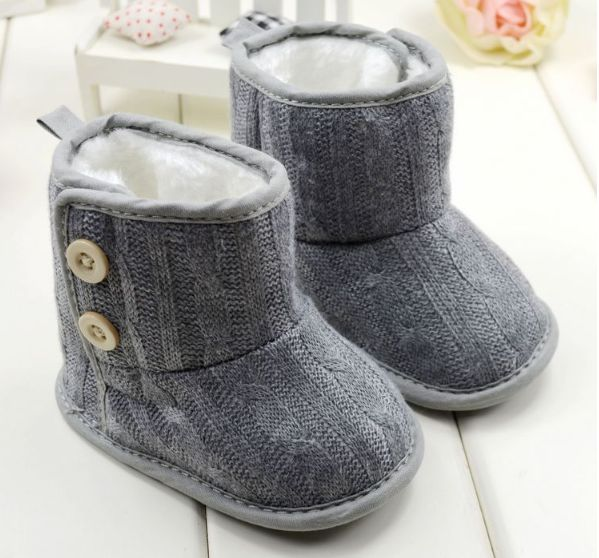 These cute Baby Winter Boots are available to order at Handsome & Divine <3
